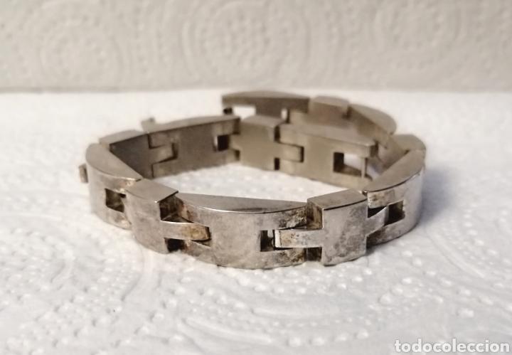 Joyeria: Vintage. Brazalete de plata. Usado. ENVÍO GRATIS. - Foto 7 - 243686820