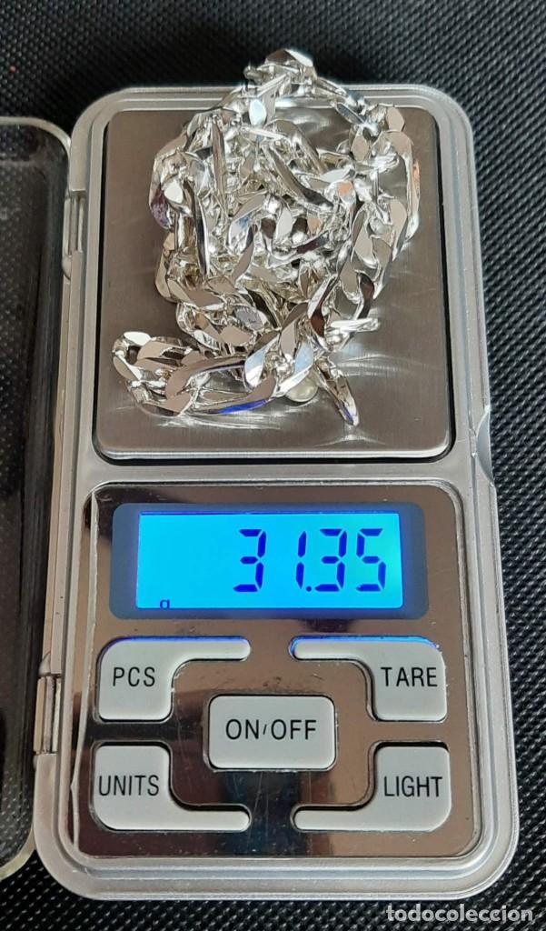 Joyeria: Cadena Fígaro chapada en plata 925. - Foto 2 - 244106695