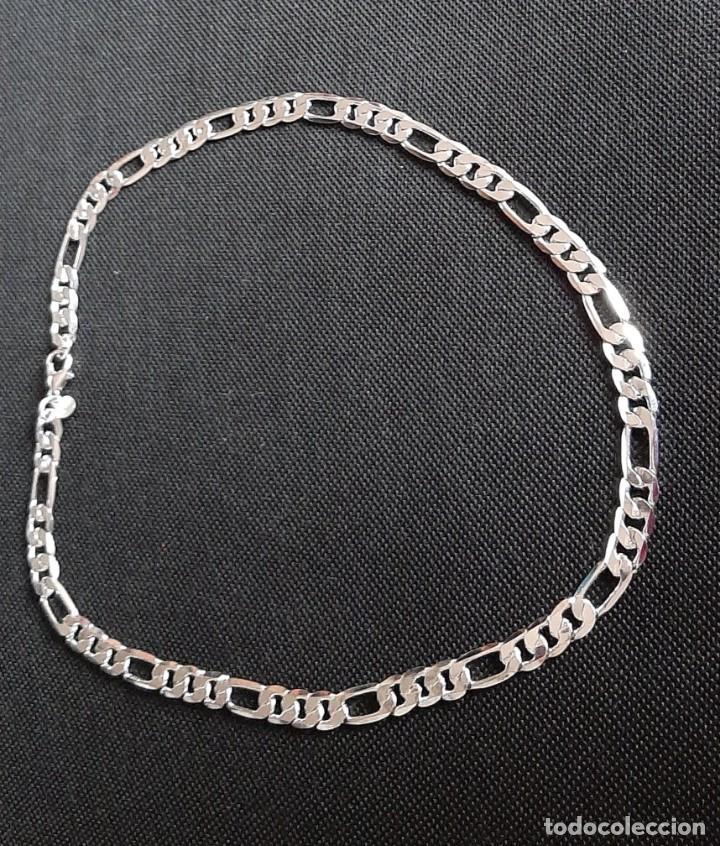 Joyeria: Cadena Fígaro chapada en plata 925. - Foto 8 - 244106695