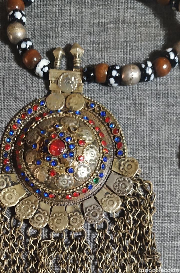 PRECIOSO COLLAR ARTESANAL DE AFGANISTÁN (Joyería - Collares Antiguos)