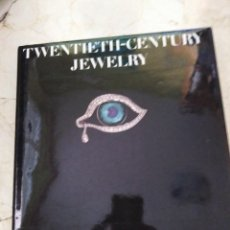 Joyeria: LIBRO DE JOYAS TWENTITH-CENTURY JEWELRY BARBARA CARTLIDGE. Lote 244858255