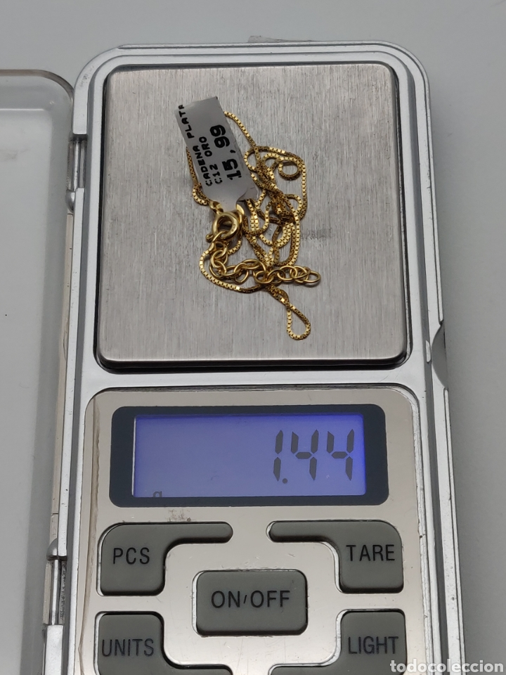 Joyeria: Cadena Volga , de plata vermieli plata y oro. - Foto 3 - 245113790