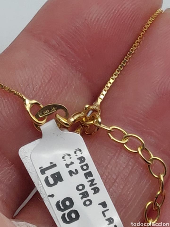 Joyeria: Cadena Volga , de plata vermieli plata y oro. - Foto 5 - 245113790