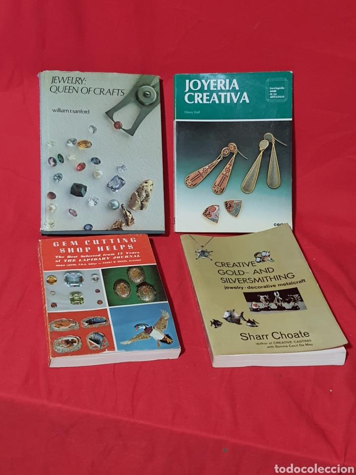 LOTE DE LIBROS ANTIGUOS DE FABRICACIÓN DE JOYAS. EN INGLES (Joyería - Varios)