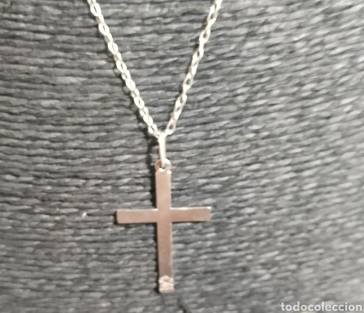 Joyeria: Cadena y cruz de plata de ley - Foto 3 - 249133950