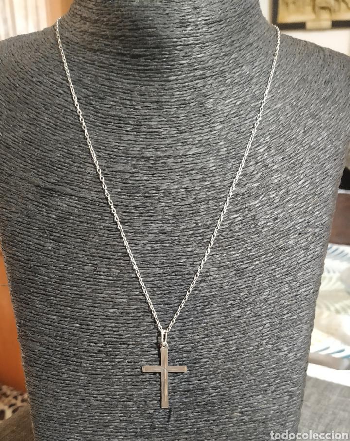 Joyeria: Cadena y cruz de plata de ley - Foto 5 - 249133950