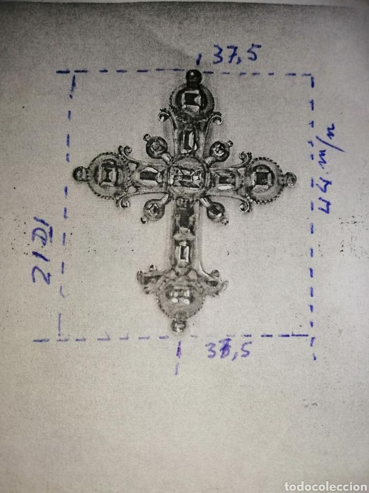 Joyeria: Espectacular cruz en oro y diamantes talla antigua Salamanca siglo XVIII - Foto 12 - 225925275