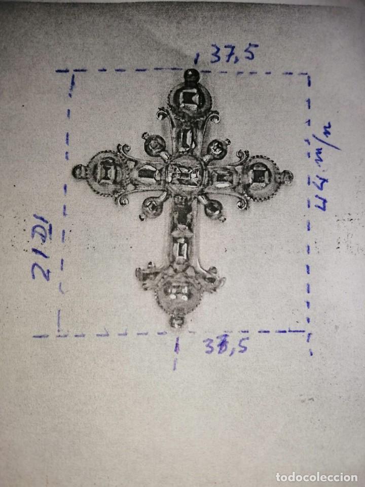 Joyeria: Espectacular cruz en oro y diamantes talla antigua Salamanca siglo XVIII - Foto 14 - 225925275