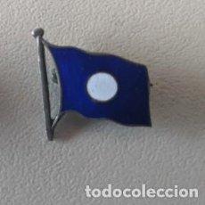 Joyeria: 1920 INSIGNIA IMPERDIBLE PLATA ESMALTE COMPAÑIA TRASATLANTICA ESPAÑOLA JOYERIA RAMON FERNANDEZ VIGO. Lote 253488270
