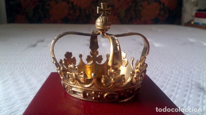 Joyeria: Coronas aristocracia en plata dorada - Foto 3 - 253574195