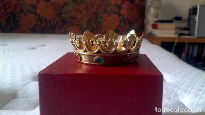 Joyeria: Coronas aristocracia en plata dorada - Foto 8 - 253574195