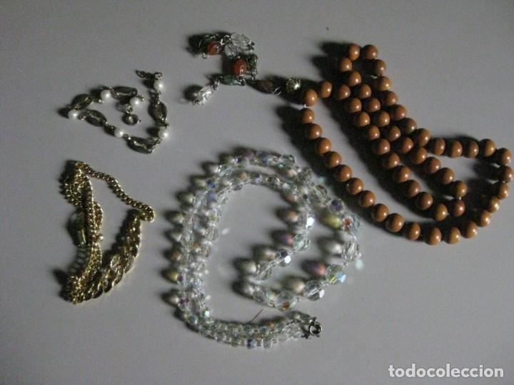 CONJUNTO DE COLLARES Y BRAZALETES ANTIGUOS (Joyería - Collares Antiguos)