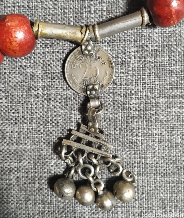 Joyeria: Collar Antiguo de la India, Artesanal - Foto 4 - 253891460