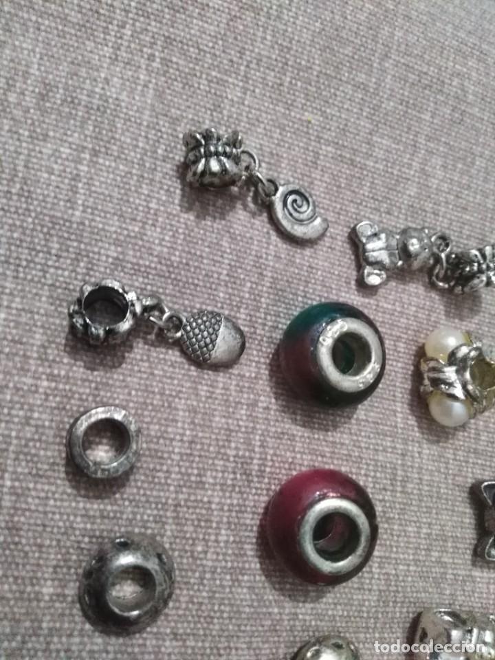Joyeria: Lote de 11 Charms para pulsera europea estilo pandora - Foto 2 - 253924465