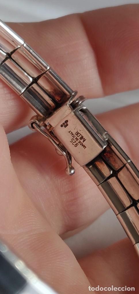 Joyeria: Pulsera Milor plata de ley 925 Made en Italy de 19 cm. - Foto 4 - 254536695