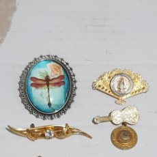 Joaillerie: LOTE DE BROCHES. Lote 257895220