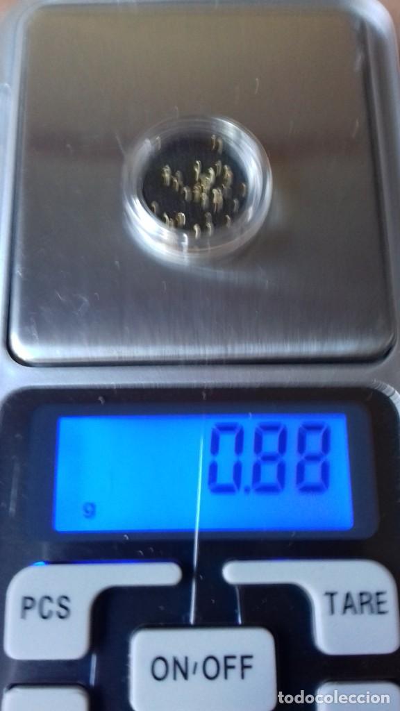 Joyeria: Blister con 40 Micro Pepitas de ORO de 24 Kilates - Foto 10 - 251648970