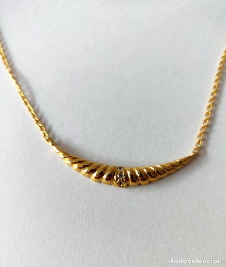 Joyeria: Collar oro chapado - Foto 2 - 260087340