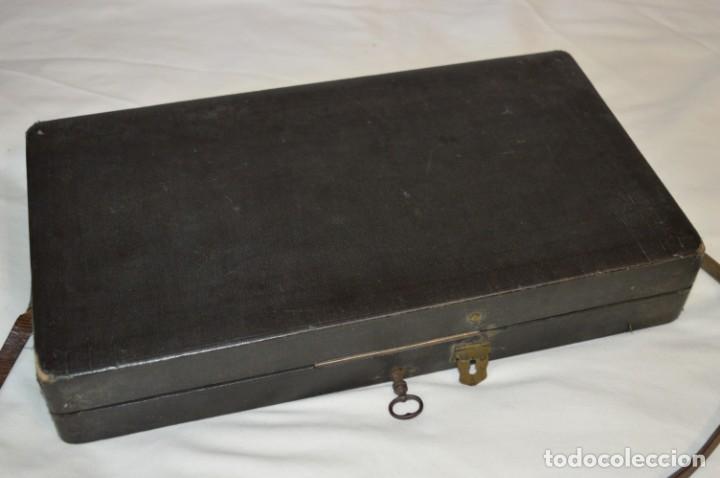Joyeria: Vintage - CAJA / ESTUCHE - Muestrario portátil de venta ambulante de joyas / AÑOS 50/60 ¡Mira, raro! - Foto 2 - 260816365