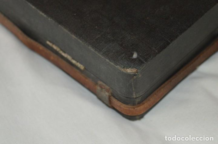 Joyeria: Vintage - CAJA / ESTUCHE - Muestrario portátil de venta ambulante de joyas / AÑOS 50/60 ¡Mira, raro! - Foto 19 - 260816365