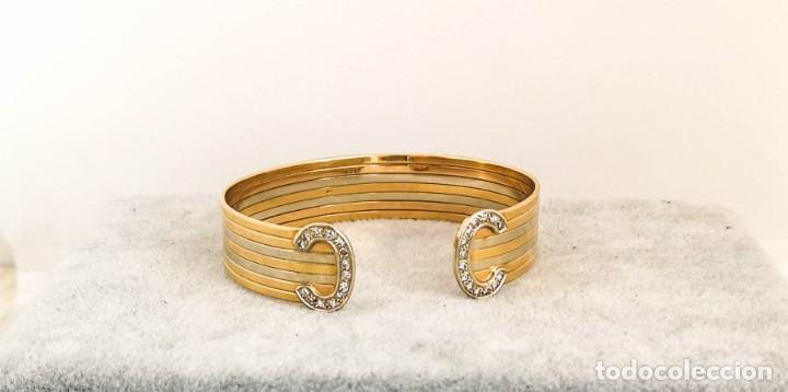 Joyeria: Brazalete O Pulsera Oro 18k y Diamantes – Estilo Cartier - Foto 2 - 260911630