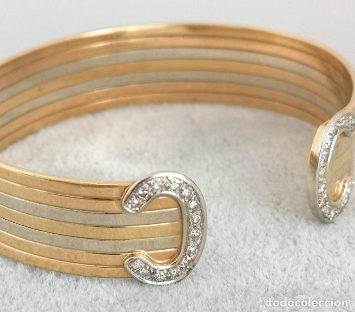 Joyeria: Brazalete O Pulsera Oro 18k y Diamantes – Estilo Cartier - Foto 6 - 260911630