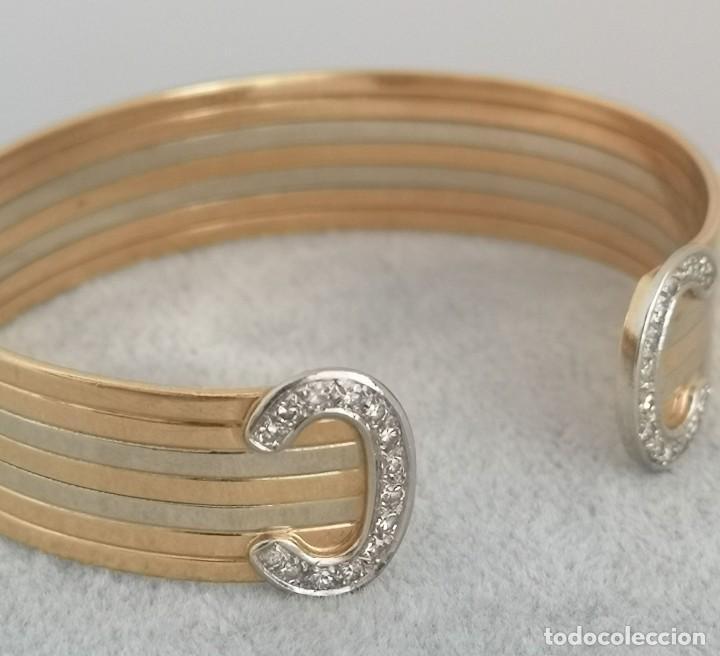Joyeria: Brazalete O Pulsera Oro 18k y Diamantes – Estilo Cartier - Foto 7 - 260911630