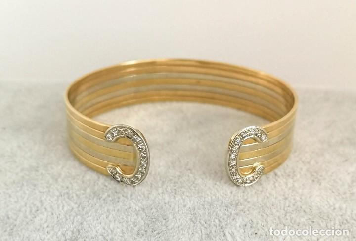 Joyeria: Brazalete O Pulsera Oro 18k y Diamantes – Estilo Cartier - Foto 8 - 260911630