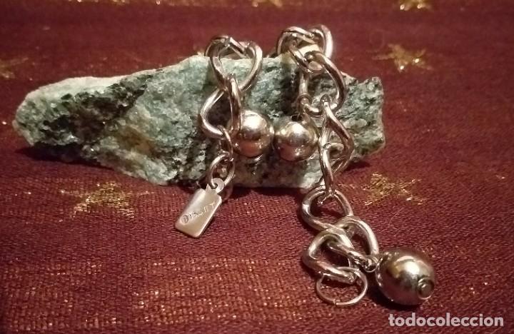 Joyeria: Articulo de bisuteria - pulsera con en acero stanley - * Bisset * . Nuevo. - Foto 4 - 261120820