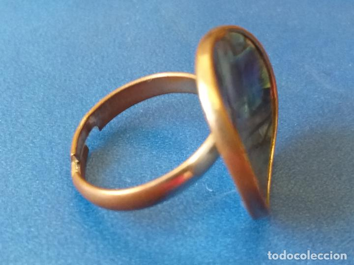Joyeria: Anillo o sortija. Metal plateado y multicolor. Adaptable - Foto 2 - 261151705