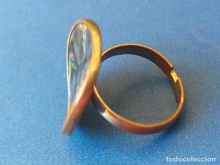 Joyeria: Anillo o sortija. Metal plateado y multicolor. Adaptable - Foto 4 - 261151705