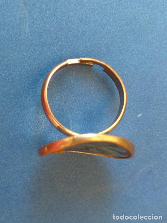 Joyeria: Anillo o sortija. Metal plateado y multicolor. Adaptable - Foto 5 - 261151705