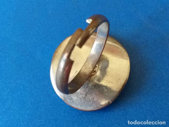 Joyeria: Anillo o sortija. Metal plateado y multicolor. Adaptable - Foto 6 - 261151705