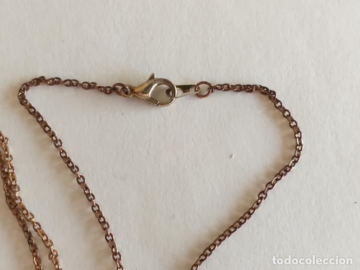 Joyeria: Cadena dorada. Colgante con figuras geométricas. Largo cadena: 46 cm - Foto 4 - 261656805