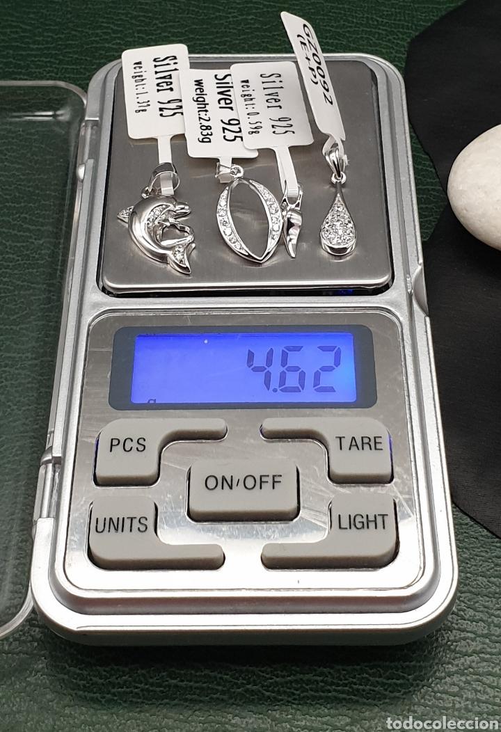 Joyeria: Conjunto 4 colgantes plata ley 925 cz. - Foto 10 - 261854410