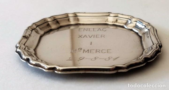 Joyeria: Plato de plata chapada - Foto 4 - 261894035