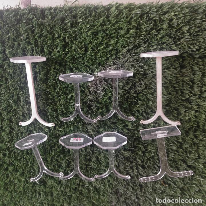 Joyeria: 41 piezas expositores de joyeria relojeria escaparate para pulseras anillos relojes cadenas collare - Foto 3 - 264792609