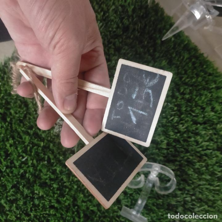 Joyeria: 41 piezas expositores de joyeria relojeria escaparate para pulseras anillos relojes cadenas collare - Foto 6 - 264792609