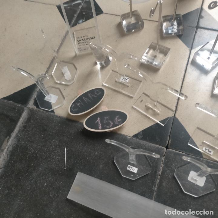 Joyeria: 41 piezas expositores de joyeria relojeria escaparate para pulseras anillos relojes cadenas collare - Foto 22 - 264792609