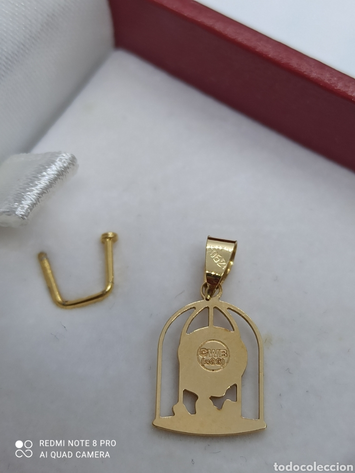 Joyeria: Colgante dePiolín de Oro 18k - Foto 2 - 266392423