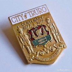 Joalheria: BROCHE CITY OF TRURO CENTENARY 1877-1977. Lote 267377449