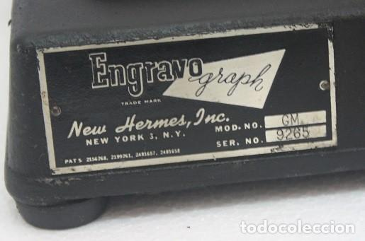 Joyeria: 10,,PANTOGRAFO GRAVO ENGRAPH + 1 ABECEDARIO COMPLETO, Y LETRAS CON ABECEDARIOS INCOMPLETOS - Foto 2 - 267524849