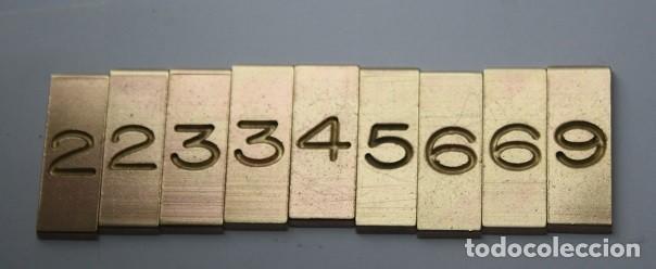 Joyeria: 10,,PANTOGRAFO GRAVO ENGRAPH + 1 ABECEDARIO COMPLETO, Y LETRAS CON ABECEDARIOS INCOMPLETOS - Foto 26 - 267524849