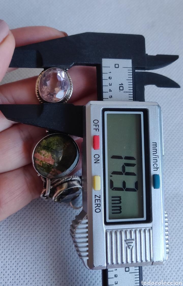 """Joyeria: Pulsera de plata esterlina con 6 gemas """"Citrino, Ágata, Amatista, Perla, Topacio y Turmalina. - Foto 16 - 267615334"""