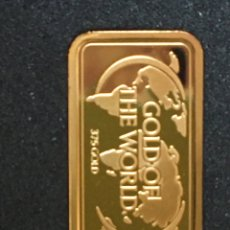 Joalheria: LINGOTE DE ORO PURO,999'9 PUREZA, 1,5 GRAMOS 375 GOLD PP PROOF. Lote 268147444