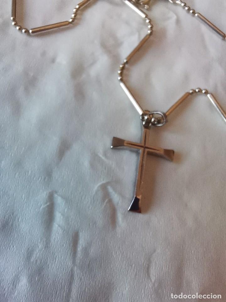Joyeria: Cadena con cruz ambas de plata 925 - Foto 7 - 268857154
