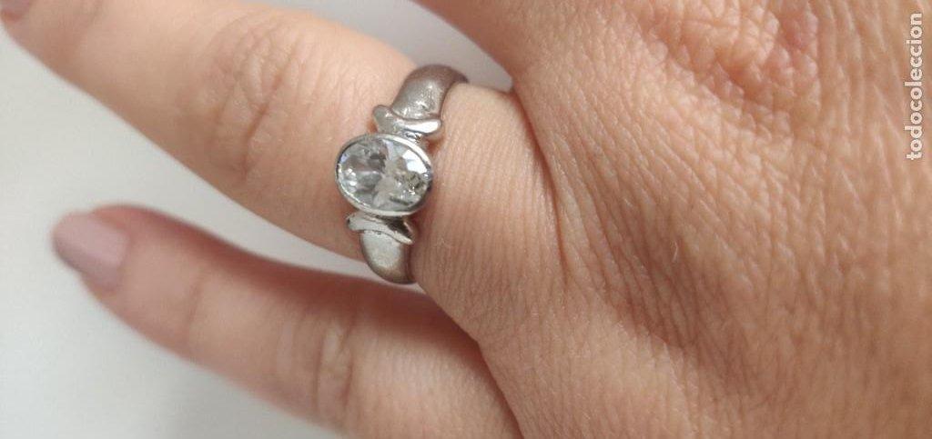 Joyeria: Solitario de plata esterlina 925 y circonita cúbica. - Foto 2 - 268896434