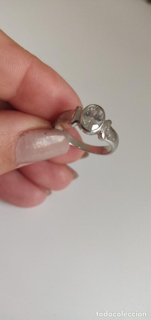 Joyeria: Solitario de plata esterlina 925 y circonita cúbica. - Foto 8 - 268896434
