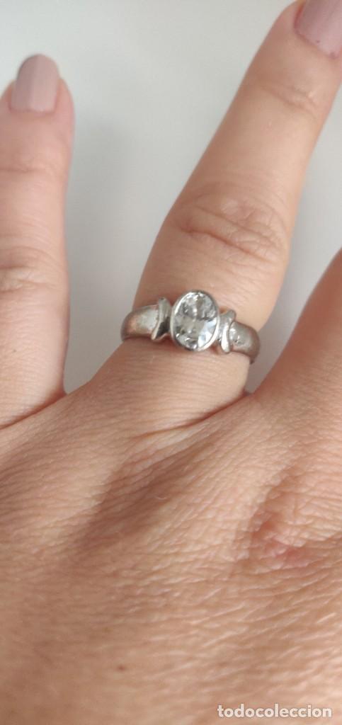 Joyeria: Solitario de plata esterlina 925 y circonita cúbica. - Foto 9 - 268896434