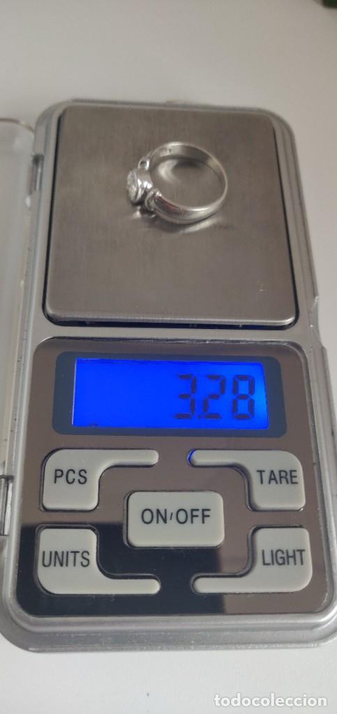 Joyeria: Solitario de plata esterlina 925 y circonita cúbica. - Foto 10 - 268896434